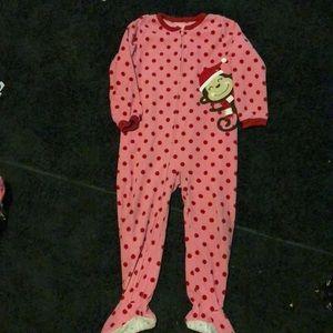 4t footie pajamas
